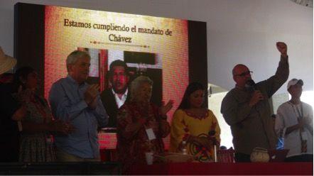 Instalan Congreso de Pueblos Indígenas del PSUV en la Escuela Venezolana de Planificación