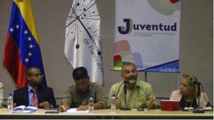 Mesa de Trabajo en la Fundación Escuela Venezolana de Planificación Para Fortalecer el Plan Sectorial de la Juventud en el Marco del Plan de la Patria 2019-2025