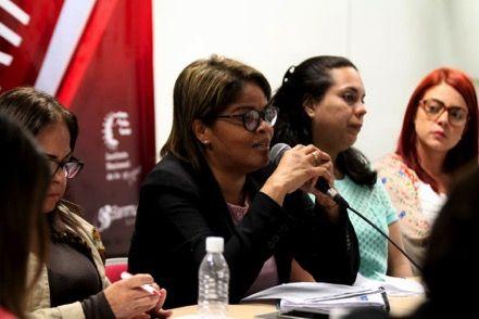 MINISTERIO DEL PODER POPULAR PARA LA MUJER  Y LA IGUALDAD DE GÉNERO REALIZÓ VIDEOCONFERENCIA EN INSTALACIONES DE LA FUNDACIÓN ESCUELA VENEZOLANA DE PLANIFICACIÓN