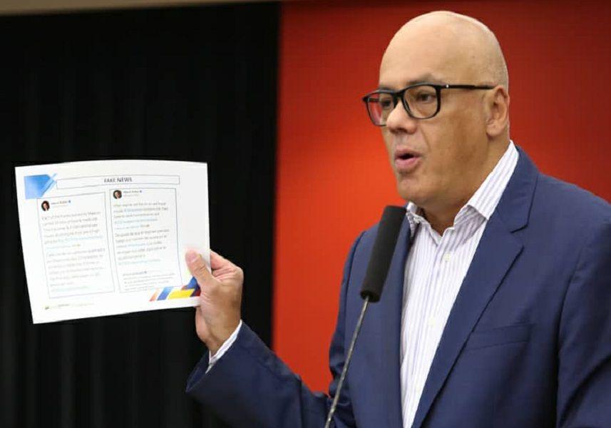 Vicepresidente de Comunicación reveló operación de falso positivo para agredir a Venezuela