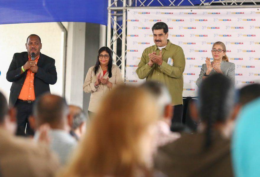 Presidente Nicolás Maduro instaló el Congreso del Movimiento Cristiano por la Paz en la FEVP