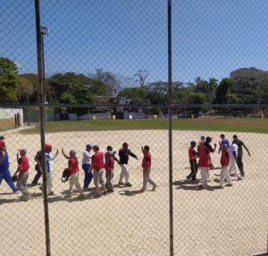 """Se dio inicio del torneo amistoso de sóftbol  """"Caciques  EVP """""""