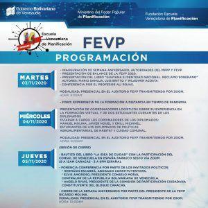 La Fundación Escuela Venezolana de Planificación Conmemora sus 14 años con diferentes actividades digitales.